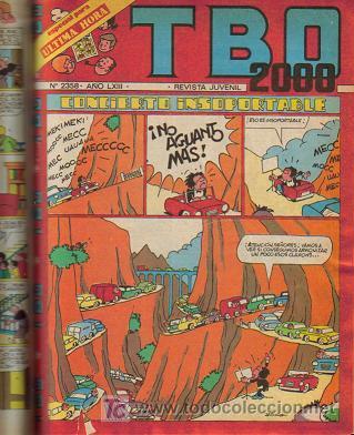 Tebeos: TBO 2000 TOMO ENCUADERNADO ( BUIGAS ) ORIGINAL - Foto 7 - 26703469