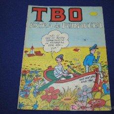 Tebeos: TBO EXTRA PRIMAVERA - EDICIONES TBO(BUIGAS). Lote 6308750