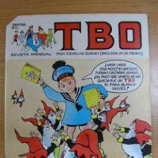 Tebeos: TBO, Nº 22, EDICIONES B, AÑO 1988. Lote 7076990