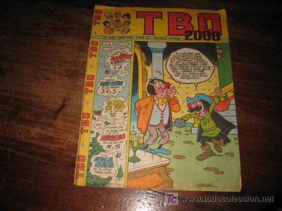 TBO 2000 Nº 2273 LXII (Tebeos y Comics - Buigas - TBO)