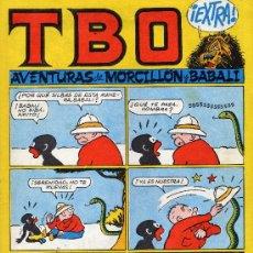 Tebeos: TBO EXTRA (MORCILLON Y BABALI). BENEJAM. Lote 113600748