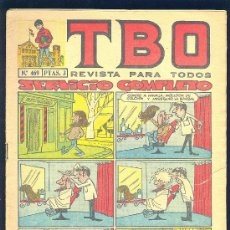 Tebeos: TBO. Nº 469. . Lote 8730319