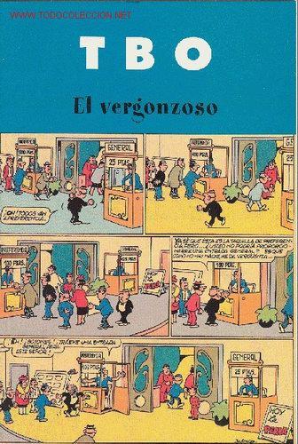TBO : EL VERGONZOSO (Tebeos y Comics - Buigas - TBO)