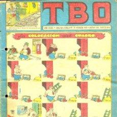 Tebeos: T.B.O. AÑO XXXIX. SEGUNDA EPOCA. Nº78. PROCEDE DE ENCUADERNACION . Lote 10232221