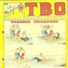 Tebeos: T.B.O. AÑO XXXIX. SEGUNDA EPOCA. Nº91. PROCEDE DE ENCUADERNACION . Lote 10232290