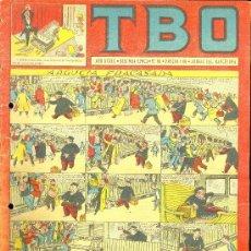 Tebeos: T.B.O. AÑO XXXIX. SEGUNDA EPOCA. Nº86. PROCEDE DE ENCUADERNACION . Lote 10232327