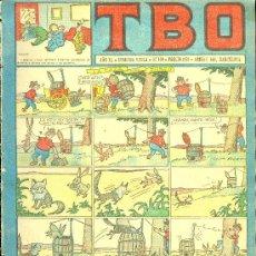 Tebeos: T.B.O. AÑO XL. SEGUNDA EPOCA. Nº120. PROCEDE DE ENCUADERNACION . Lote 10232407