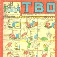 Tebeos: T.B.O. AÑO XL. SEGUNDA EPOCA. Nº110. PROCEDE DE ENCUADERNACION . Lote 10232409