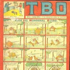 Tebeos: T.B.O. AÑO XL. SEGUNDA EPOCA. Nº116. PROCEDE DE ENCUADERNACION . Lote 10232414