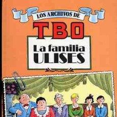 Livros de Banda Desenhada: LOS ARCHIVOS DEL TBO , LA FAMILIA ULISES, EDICIONES B 1990 Nº1. Lote 20902459