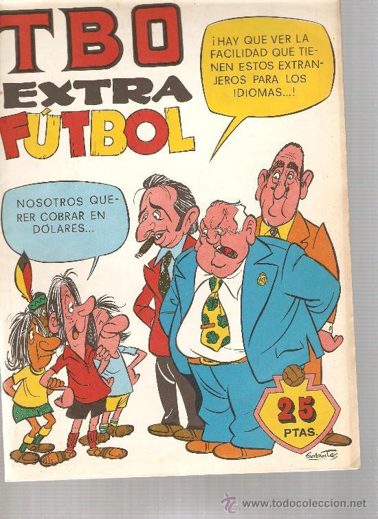 LOTE DE 6 TBO EXTRA : FUTBOL + MAS FUTBOL + CINE + AUTOMOVILISTAS + VACACIONES + NADAL (Tebeos y Comics - Buigas - TBO)