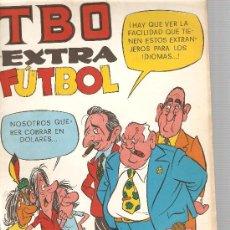 Tebeos: LOTE DE 6 TBO EXTRA : FUTBOL + MAS FUTBOL + CINE + AUTOMOVILISTAS + VACACIONES + NADAL. Lote 22968183