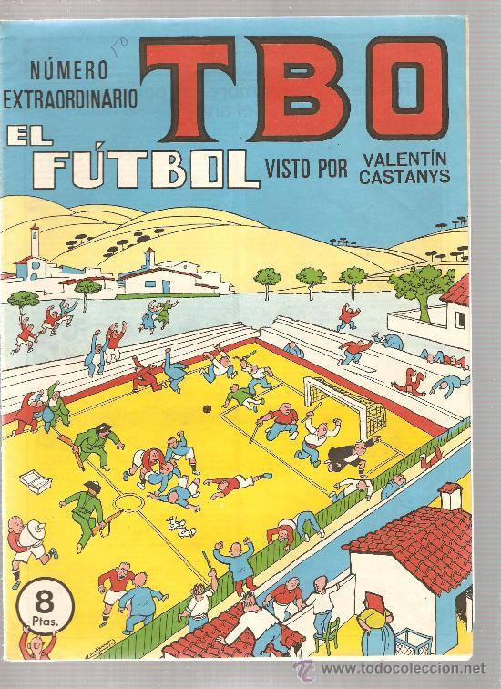 Tebeos: LOTE DE 6 TBO EXTRA : FUTBOL + MAS FUTBOL + CINE + AUTOMOVILISTAS + VACACIONES + NADAL - Foto 2 - 22968183