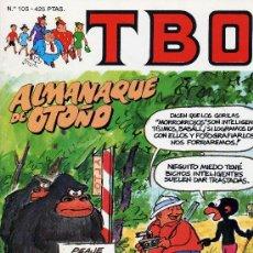 Tebeos: TBO Nº105 (ALMANAQUE OTOÑO). Lote 11285535