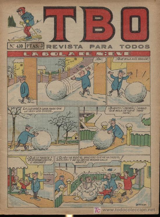 TBO Nº 430 (Tebeos y Comics - Buigas - TBO)