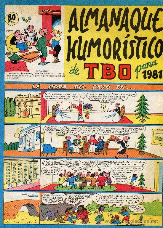 TBO (ALMANAQUE 1981) (Tebeos y Comics - Buigas - TBO)