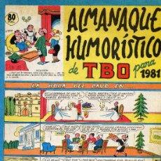 Tebeos: TBO (ALMANAQUE 1981). Lote 16403446