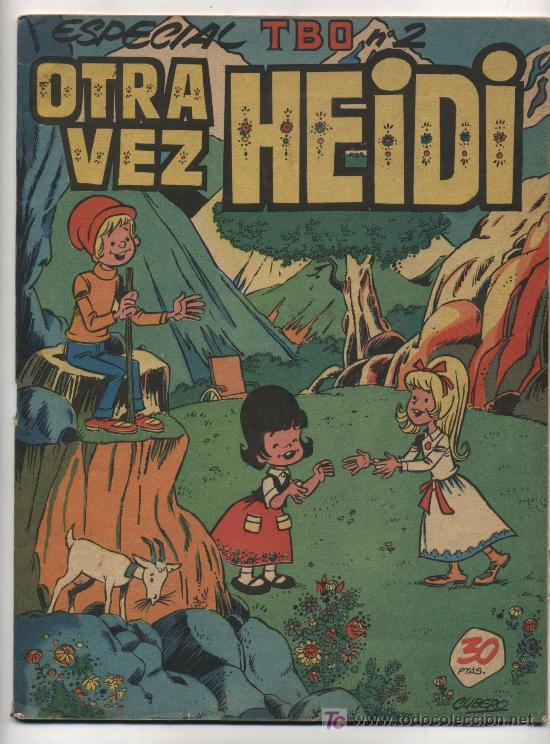 ESPECIAL TBO Nº 2. OTRA VEZ HEDI (Tebeos y Comics - Buigas - Otros)