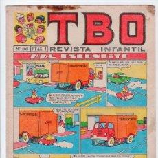 Tebeos: T B O. REVISTA INFANTIL. AÑO LII. Nº 568. EDITORIAL BUIGAS, ESTIVIL Y VIÑA. 13 DE SEPTIEMBRE DE 1968. Lote 13804649