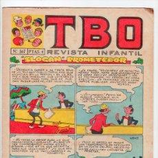 Tebeos: T B O. REVISTA INFANTIL. AÑO LII. Nº 567. EDITORIAL BUIGAS, ESTIVIL Y VIÑA. 6 DE SEPTIEMBRE DE 1968. Lote 13804655