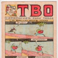Tebeos: T B O. REVISTA PARA TODOS. AÑO LI. Nº 492. EDITORIAL BUIGAS, ESTIVIL Y VIÑA. 31 DE MARZO DE 1968. Lote 13804665