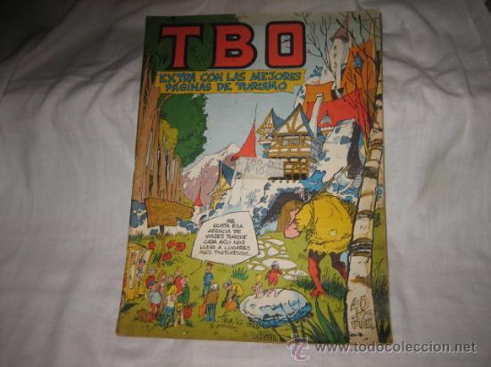TBO EXTRA CON LAS MEJORES PAGINAS DE TURISMO 1977 (Tebeos y Comics - Buigas - TBO)
