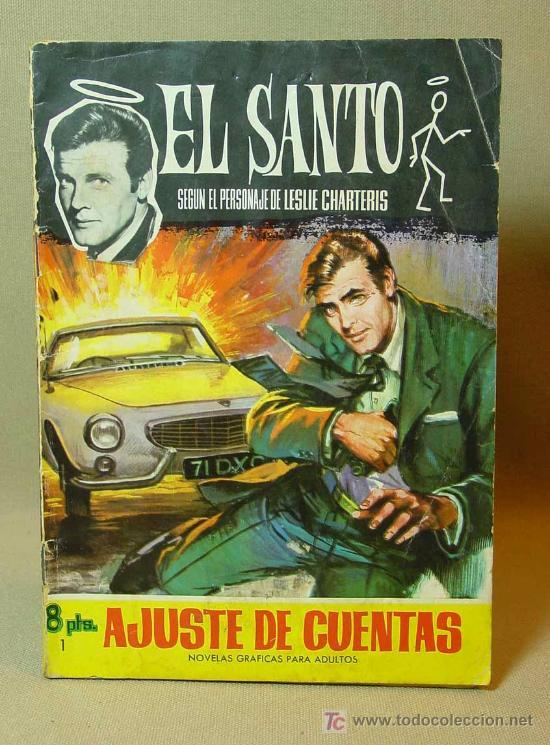 MUY RARO, COMIC O TBO, EDITORIAL FERMA, Nº 1, EL SANTO, SIMON TEMPLAR, 1966 (Tebeos y Comics - Buigas - TBO)