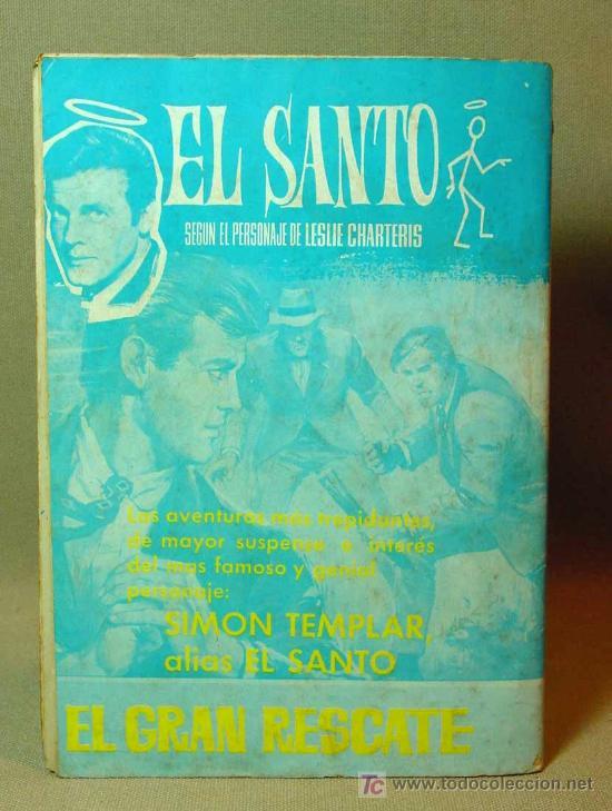 Tebeos: MUY RARO, COMIC O TBO, EDITORIAL FERMA, Nº 1, EL SANTO, SIMON TEMPLAR, 1966 - Foto 2 - 194663970