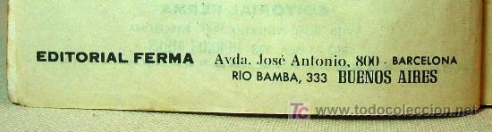 Tebeos: MUY RARO, COMIC O TBO, EDITORIAL FERMA, Nº 1, EL SANTO, SIMON TEMPLAR, 1966 - Foto 4 - 194663970
