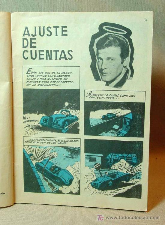 Tebeos: MUY RARO, COMIC O TBO, EDITORIAL FERMA, Nº 1, EL SANTO, SIMON TEMPLAR, 1966 - Foto 5 - 194663970