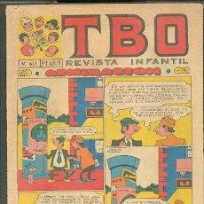 Livros de Banda Desenhada: TBO N º 611,ED.BUIGA. Lote 16421278