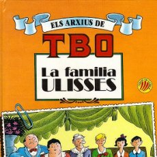 Tebeos: ELS ARXIUS DE TBO Nº 1 - LA FAMILIA ULISES - EDICION B.S.A. 1990 - EN CATALÁ (NOU PER ESTRENAR). Lote 23867022
