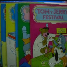 Tebeos: TOM Y JERRY FESTIVAL -LOTE . Lote 17814513