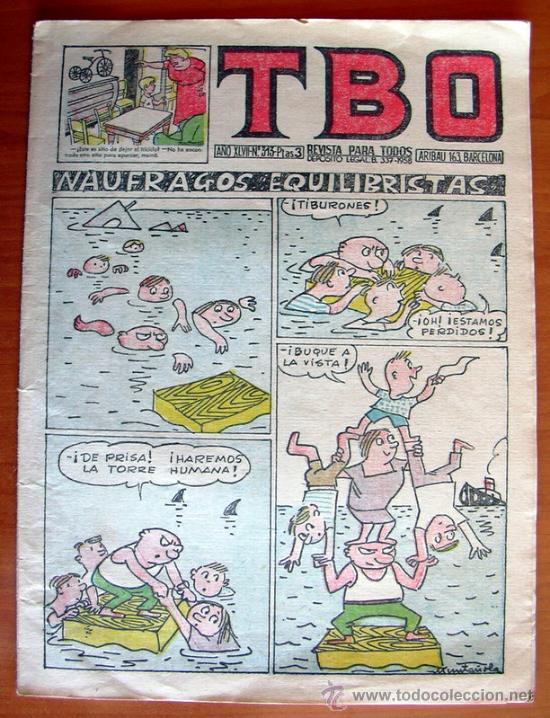 TBO Nº 313 - EDITORIAL BUIGAS 1952 (Tebeos y Comics - Buigas - TBO)