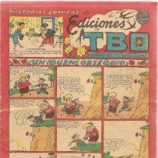 Tebeos: HISTORIAS COMICAS DE EDICIONES TBO. Lote 26158591