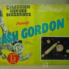 Tebeos: TBO, COMIC, FLASH GORDON Y EL HOMBRE ENMASCARADO, (FANTASMA), Nº 10, HEROES MODERNOS, 5 HISTORIAS. Lote 19536538