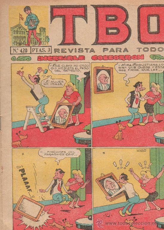 TBO Nº 420 (Tebeos y Comics - Buigas - TBO)