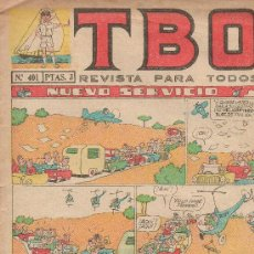 Tebeos: TBO Nº 401. Lote 26462577