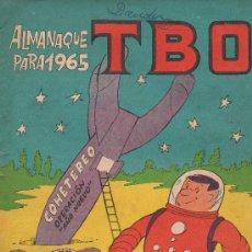 Livros de Banda Desenhada: TBO ALMANAQUE PARA 1965 EDITA BUIGAS. Lote 24577224
