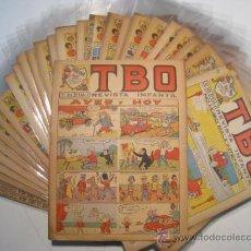 BDs: TBO - REVISTA ORIGINAL - NUMEROS SUELTOS. Lote 19936787