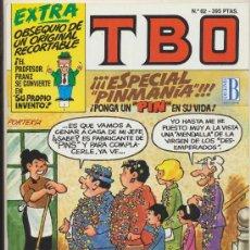 Tebeos - TBO nº 62.Contiene el recortable central. - 20858720