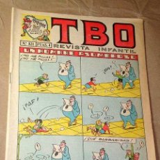 Tebeos: TBO Nº 521, 1917-1967, AÑO LI. REVISTA INFANTIL. COLL, BENEJAM, AYNÉ, ROLDÁN, MESTRES. BUIGAS 1967.. Lote 26609101