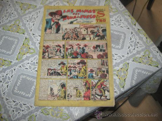 TBO,S,LAS MINAS DEL AGUA DE FUEGO. (Tebeos y Comics - Buigas - Otros)