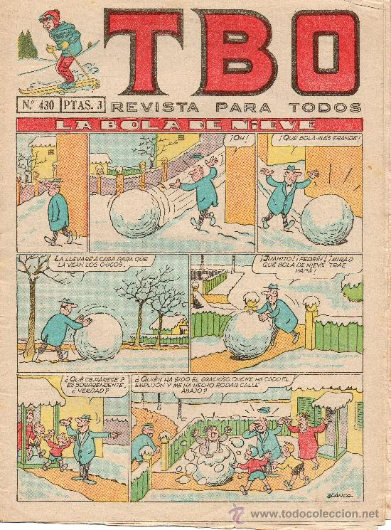 TBO Nº 430 DE BUIGAS (Tebeos y Comics - Buigas - TBO)