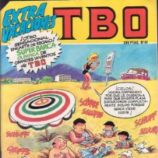 Tebeos: TBO Nº 41 EXTRA VACACIONES ( MANTIENE EL RECORTABLE DE PAGINAS CENTRALES ). Lote 26123199