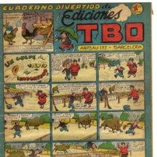 Tebeos: CUADERNO DIVERTIDO DE EDICIONES TBO - S/N. Lote 26207739