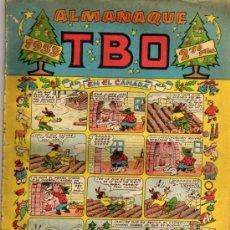Tebeos: ALMANAQUE TBO 1953. Lote 26224510