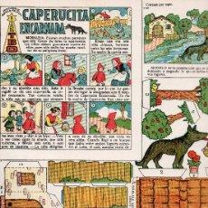 Tebeos: RECORTABLES COLECCION MAGISTER CAPERUCITA ENCARNADA EDITA BUIGAS . Lote 26509065