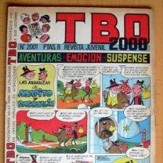 Tebeos: TBO 2000, Nº 2001 - EDITORIAL BUIGAS 1972. Lote 26863294