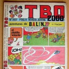 Tebeos: TBO 2000, Nº 2007 - EDITORIAL BUIGAS 1972. Lote 26863383